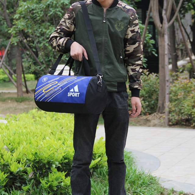 2017 New Canvas Outdoor Shoulder Bag Women Fitness Sports Gym Bag For Shoes Nylon Men Training Travel Duffle Handbag luggage bag