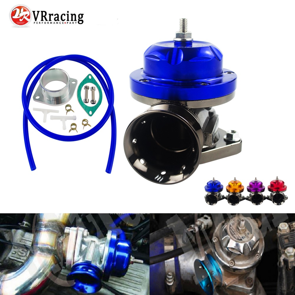 VR RACING-Universal Typ-RS Turbo Blow off Ventil Einstellbar 25psi BOV Schlag dump/Blow off adapter VR5763