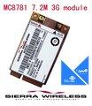 Sierra Wireless Mc8781 Umts Hsdpa Módulo 14.4 mb/s Cartão Mini Pci Express Pci-e Pcie 3g Modem (com Gps, sem Bloqueio Do Sim)