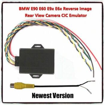 ภาพย้อนกลับ Emulator/ด้านหลังกล้อง Activator สำหรับ BMW E90 E60 E9X CIC Host