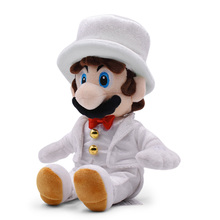 Anime Super Mario Odyssey Bros Wedding Dress Mario Peluche Doll Plush Soft Stuffed Toy Great Christmas Gift For Children