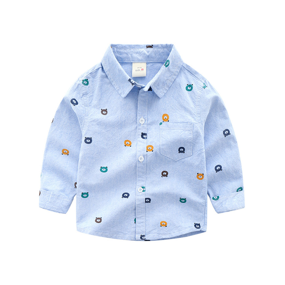 Long Sleeve White Baby Shirts Baby Boy Cotton Oxford Shirt Teenager Spring Boy Clothes Classic Tops Shirts Toddler Boy Promotion