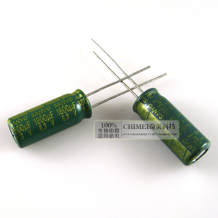 Electrolytic Capacitor 1800UF 6.3V Capacitor Parts