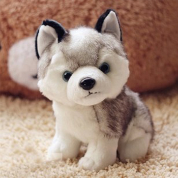 Stuffed Animal Toys Kids Husky Dog Plush Toys for girls boys Husky Wolf Plush Cute Small soft toys Stuffed Animal Birthday Gift 18cm genuine husky plush toys cute soft animal dog toys doll creative gift for kids birthday gift