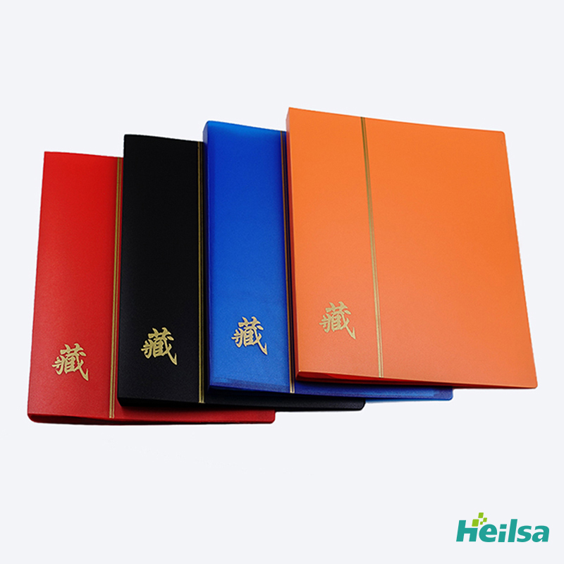 180 Banknotes Collection Album 30 Sheets 60P 21 28 5CM Protection Book Currency Commemorative Banknotes Paper Money Collecting in Photo Albums from Home Garden