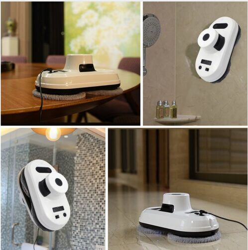 Window Cleaner Robot Auto Window Cleaner Anti-Falling Smart Window Glass Cleaner Robot Vacuum Cleaner With Remote Control цена
