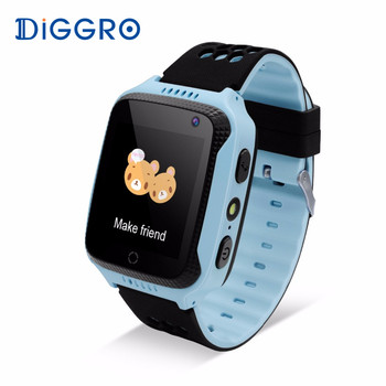 Diggro M01 Kids Smart Watch 2G GPS Tracker With Camera SIM Card Anti-lost SOS Call Children Smartwatch For Android IOS Умные часы