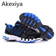 Akexiya 2017 marke männer schuhe atmungsaktives mesh herren schuhe casual zapatillas deportivas hombre