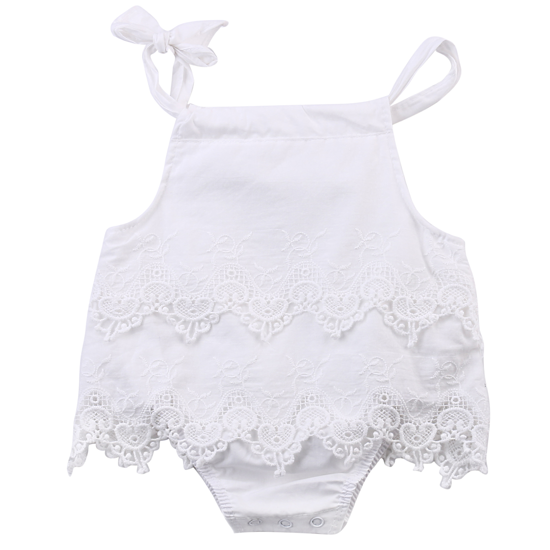 Hi Hi Baby Store  Newborn Baby Girls Flower Lace Romper Body Jumpsuit Outfits Sunsuit Clothes