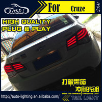 AKD Car Styling Tail Lamp For Chevrolet Cruze Tail Lights BMW Design LED Tail Light Signal