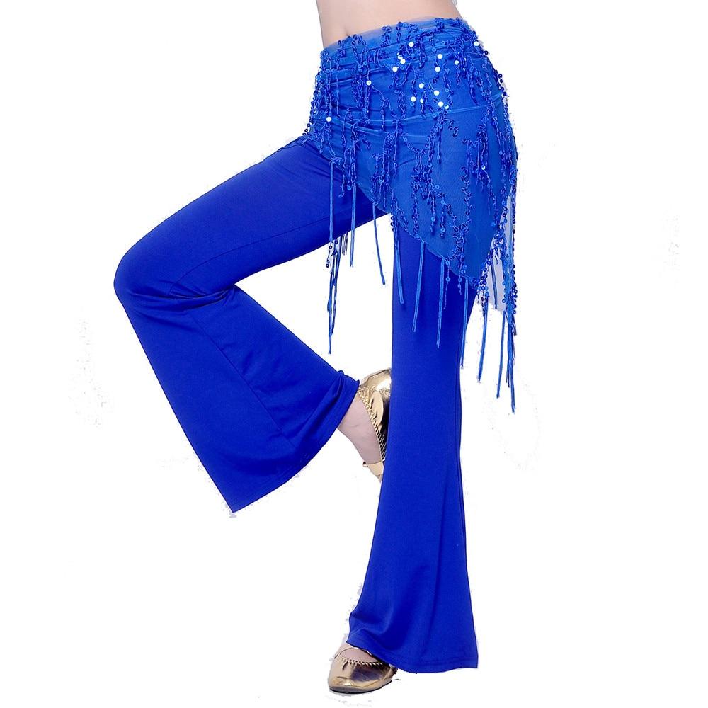 Belly dance waist chain indian dance hip scarf sequins bandage Dance belt bellydance belt 8 colors for your choice VL-CW100