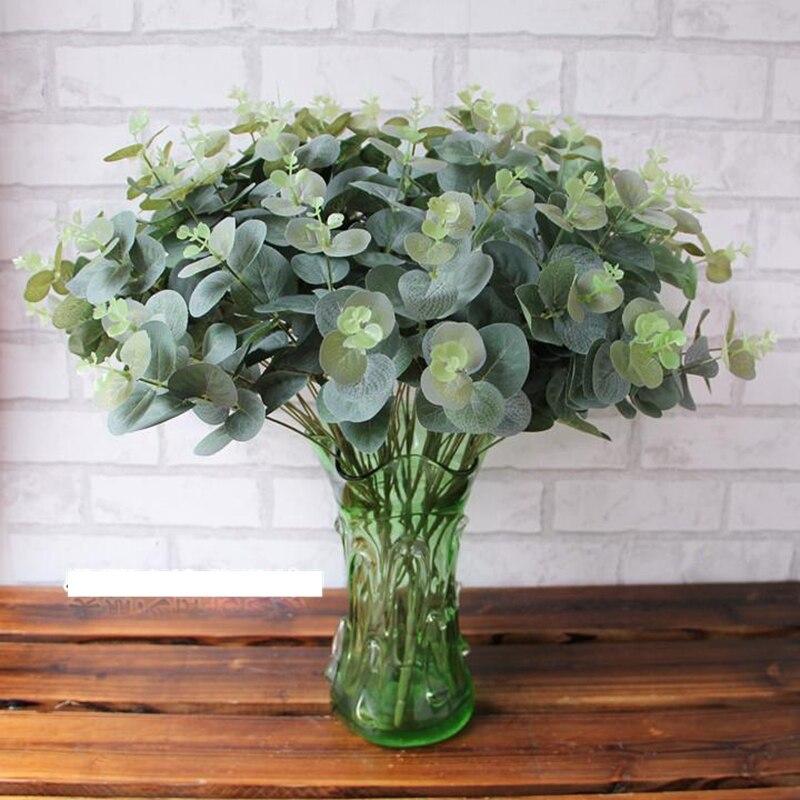 achetez en gros artificielle feuilles d 39 eucalyptus en ligne des grossistes artificielle. Black Bedroom Furniture Sets. Home Design Ideas