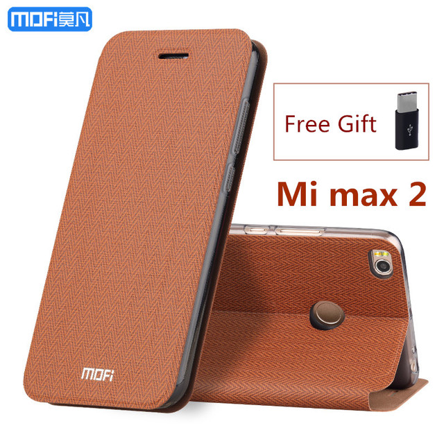 check out 1d15a 10474 US $13.22 |For Xiaomi mi max 2 case flip case stand holder MOFi For xiaomi  max 2 case cover full cover capa coque funda carcasa hoesjes-in Flip Cases  ...