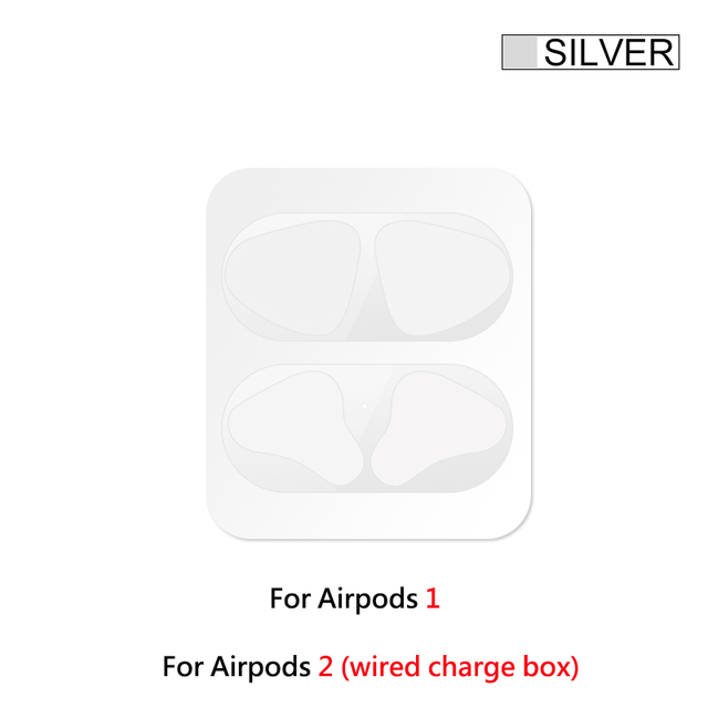Pure Color,Silver Yougth Ultra Thin Protector King Queen Dust-Proof Film Sticker Metal Dust Guard Protective Cover Anti Iron Shavings