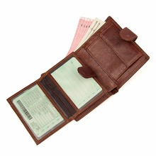 J.M.D Brand New Vintage Genuine Leather Billfolds Wallet For Men Organizer Money Card Holder 8149X