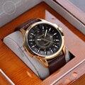 Mais nova marca de luxo curren homens de negócios relógios moda casual relógios de quartzo relógio militar relógios das mulheres relógios de pulso 1230