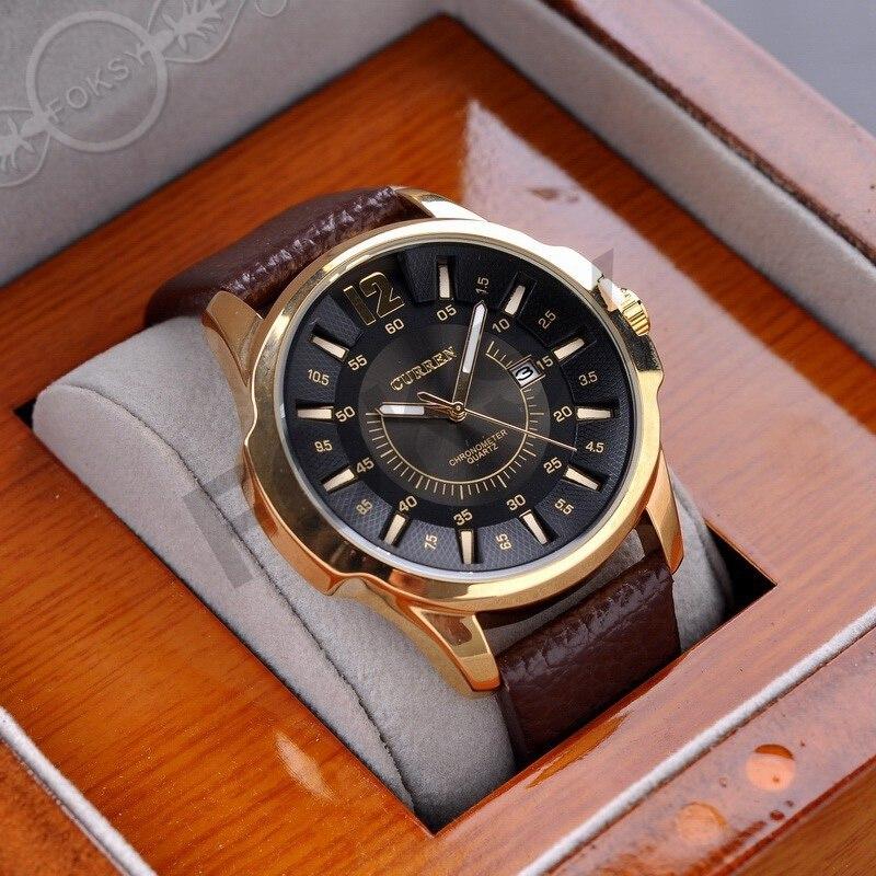 Lo nuevo de Lujo de la marca Curren Hombres de negocios Relojes de Moda  casual Relojes de Cuarzo Reloj Militar relojes Relojes de las mujeres 1230  ... 747e2fbe334