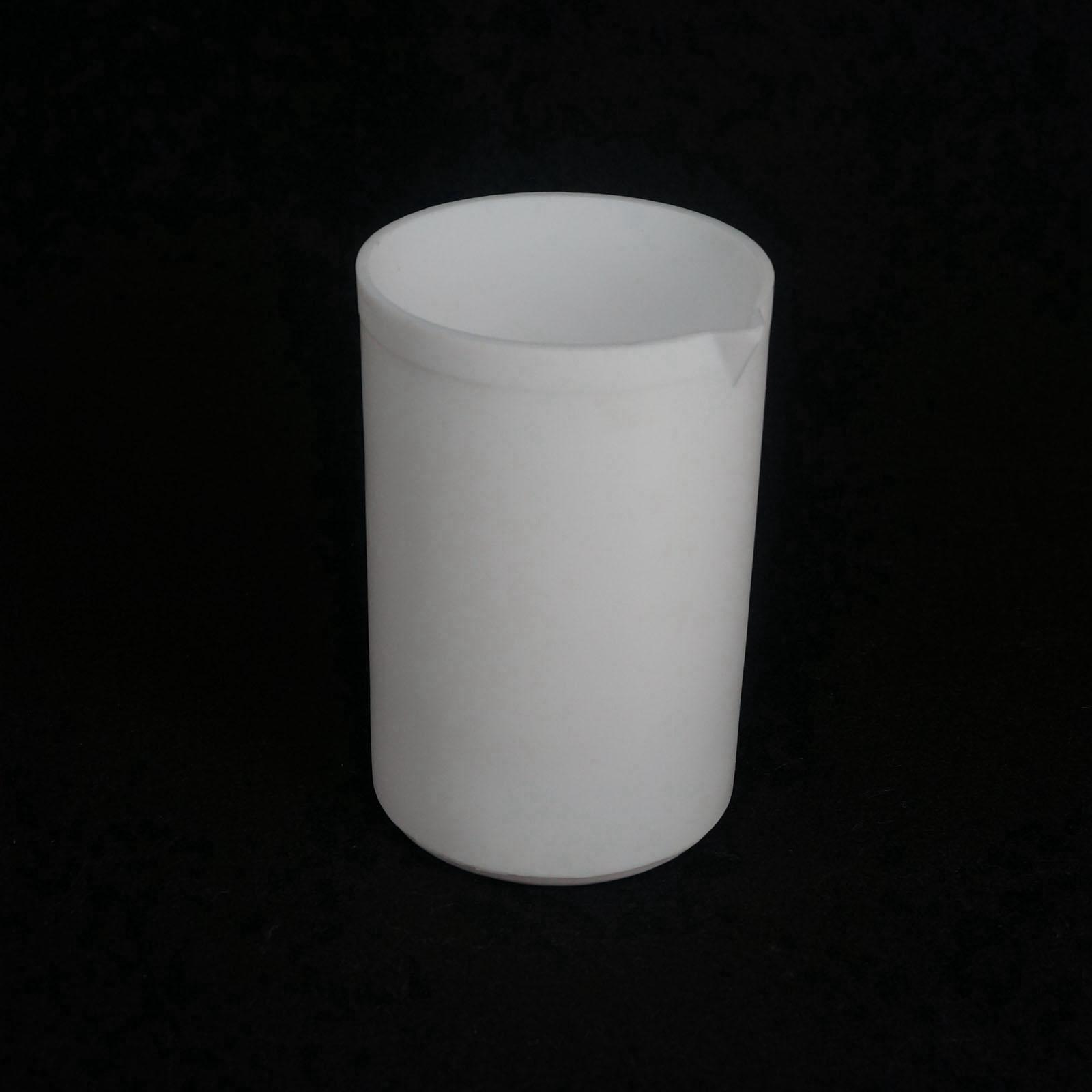 500ml White Measuring Beaker PTFE Teflon Silicone Laboratory Ware High Quality машинка для стрижки jinding jd 8218