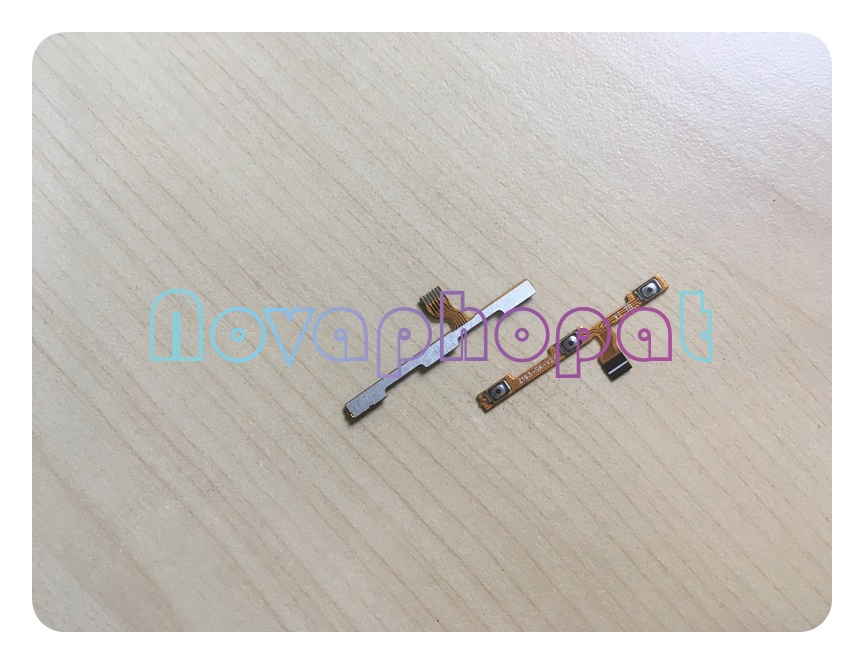 Novaphopat M5S Power On Off Volume Up Down Switch Key Button Flex Cable For Meizu M5S Replacement Parts +tracking