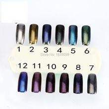 2016 ¡ Nuevo! 1G/3G Frasco Mágico Espejo Cromo pigmentos de Efecto de Uñas Brillante Magia cromo pigmento de uñas glitter powder