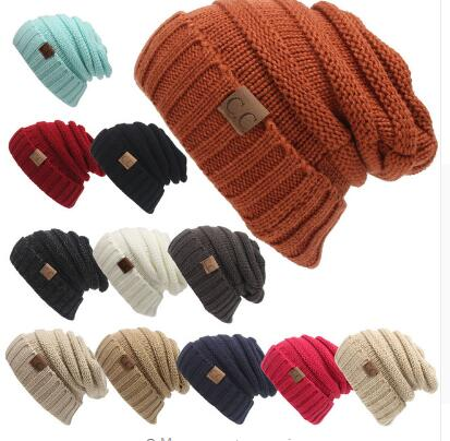 100pcs Winter Casual Hip Hop Beanies Hat Men Knitted Toucas Bonnet Hats For Men Women Crochet Cap Warm Skullies Gorros
