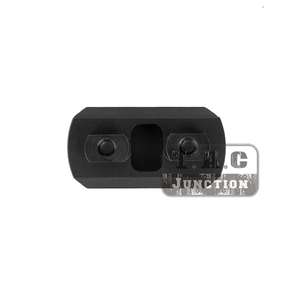 Image 3 - Тактический адаптер для MLOK Picatinny/Weaver, 3 слота, алюминиевый сегмент, крепление для наконечника MLOK, передняя часть, 1,5 дюйма, 38 мм