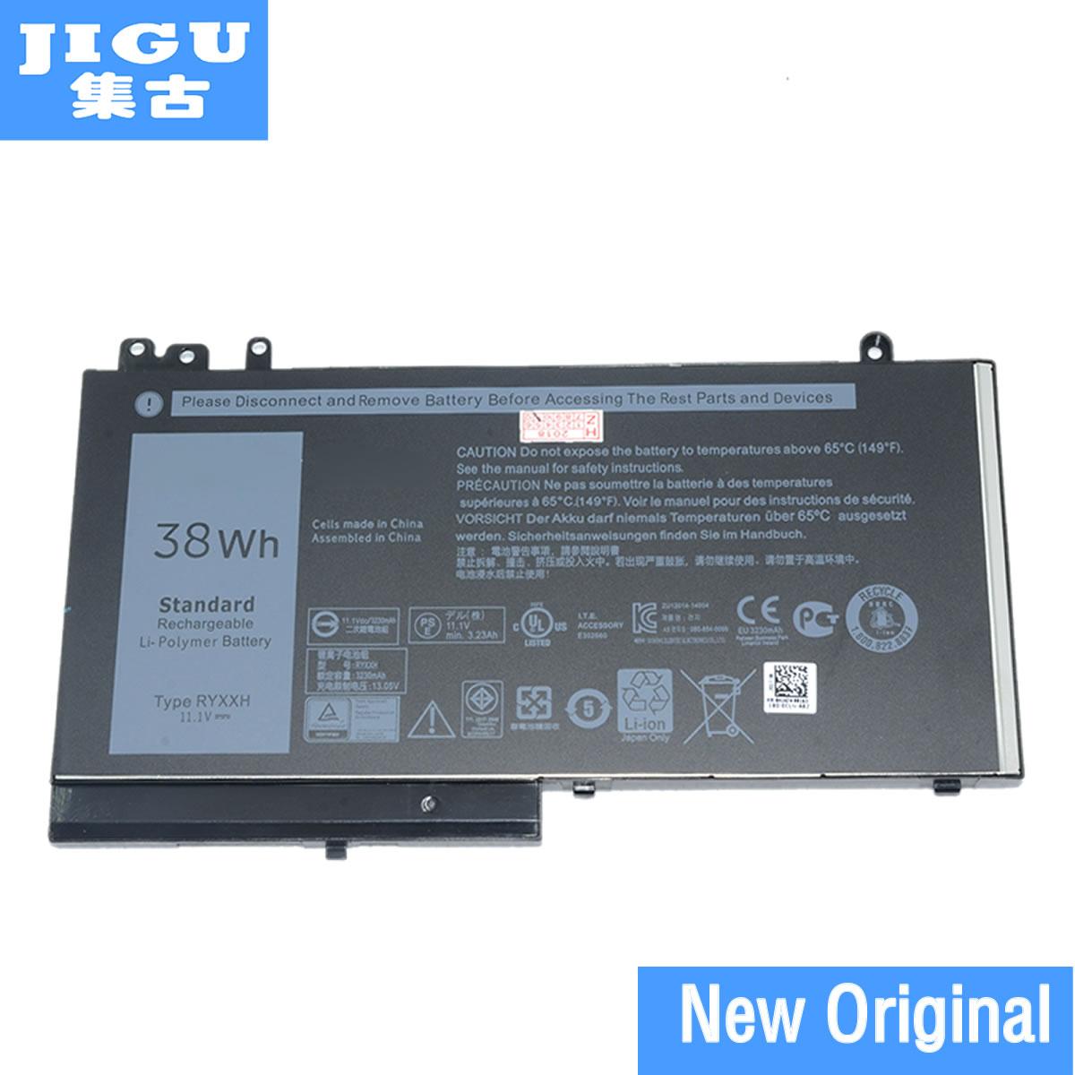 JIGU Batterie D'ordinateur Portable D'origine 05 4TFCY 09P402 5 4TFCY RYXXH Pour DELL Pour Latitude 12 5000 E5250 E5250