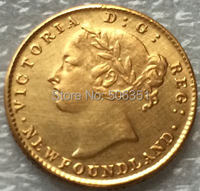 1865 Canada 2 Dollars Gold Coins Copy Free Shipping