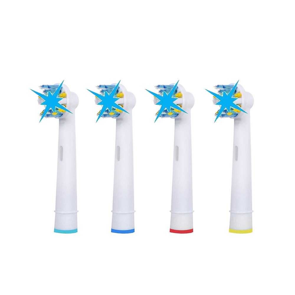 20Pcs=5Packs Oral Hygiene Electric Toothbrush Replacement head EB-25A/EB25A Soft Bristles Toothbrush Head 2pcs philips sonicare replacement e series electric toothbrush head with cap