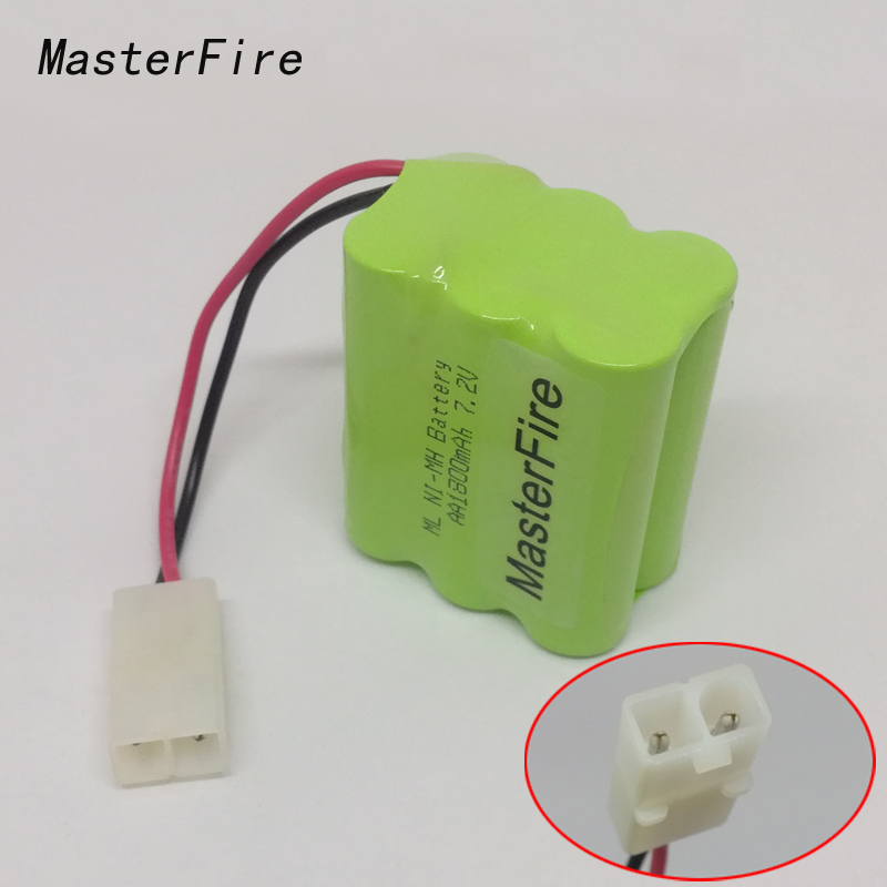 MasterFire 5PACK/LOT Brand New 7.2V AA 1800mAh Ni-MH Battery Rechargeable Batteries Pack For RC Boat, Car, TrucK Free Shipping