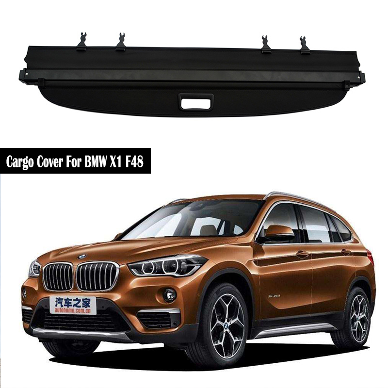 Rear Cargo Cover For BMW X1 F48 2016 2017 2018 2019