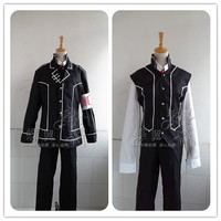 Anime Vampire Knight cosplay Kiryu Zero Uniforms Set cos harujuku halloween party full set