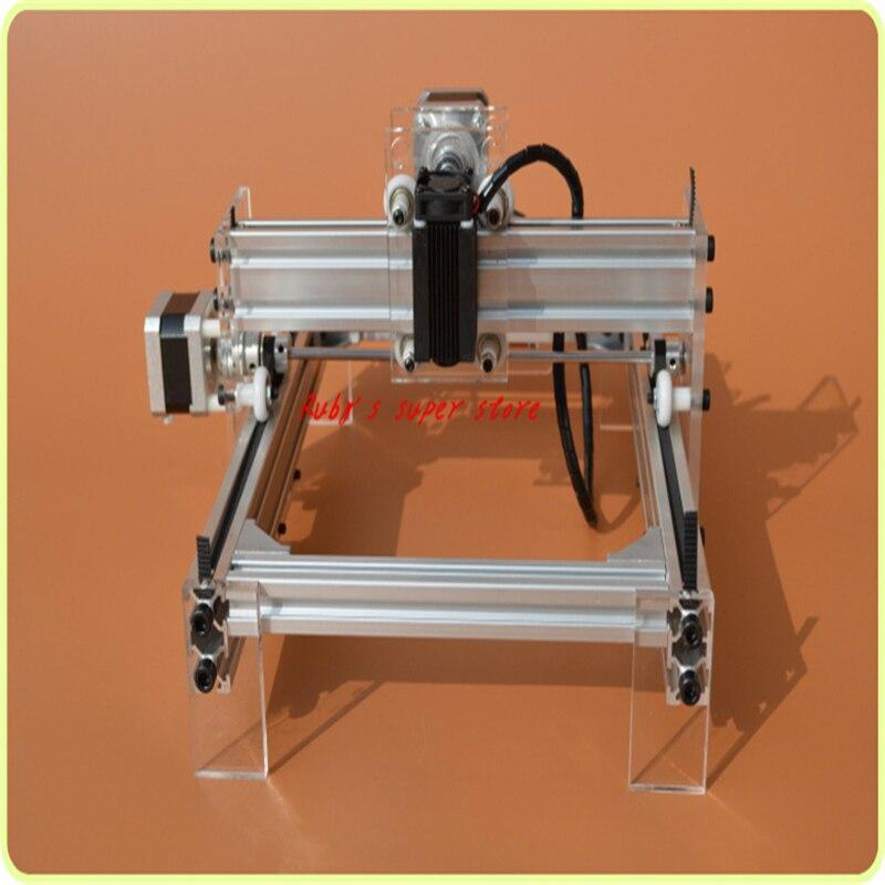 DIY 5500MW desktop laser engraving machine laser engraving machine engraving machine laser marking machine with adjustable power