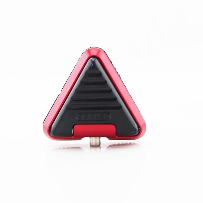 ФОТО newest unique design mini red aluminum top quality heavy duty RCA 6.3mm plug professional tattoo power supply foot pedal switch