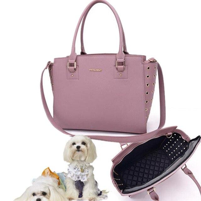 nouveau style nouvelles variétés profiter de gros rabais € 54.01  Sac de transport Designer pour chiens Portable Pet voyage  transporteur chat sac à dos pour petits animaux Chihuahua chiot élingues  sac à main ...