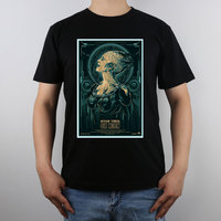 Star Trek Fine Art The Menagerie Online Dyson Sphere Spire Concept T Shirt Top Pure Cotton