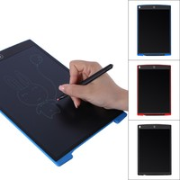 12 Inch LCD Writing Tablet Drawing Board Gifts Toys For Kids Office Writing Memo Board Toy