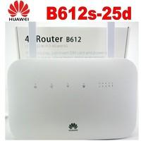 Unlocked Huawei B612 4G LTE Cat 6 CPE router B612s 25d 4G wifi router 300Mbps 4g hotspot PK E5771