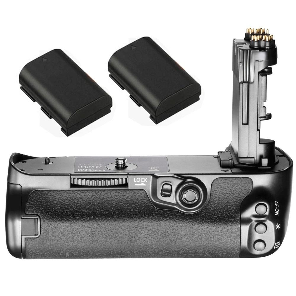 JINTU Vertical Shutter Battery Power Grip +2pcs LP-E6 Kit For Canon 5D4 5DIV 5D Mark IV Battery Grip as BG-E20 new powerboard for canon 5d mark iv 5d4 5div dc dc power board pcb ass y replacement repair part