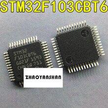 100 adet X STM32F103CBT6 STM32F103 STM32F yeni