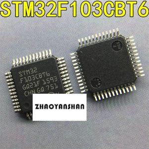 Image 1 - 100Pcs X STM32F103CBT6 STM32F103 STM32F Nieuwe