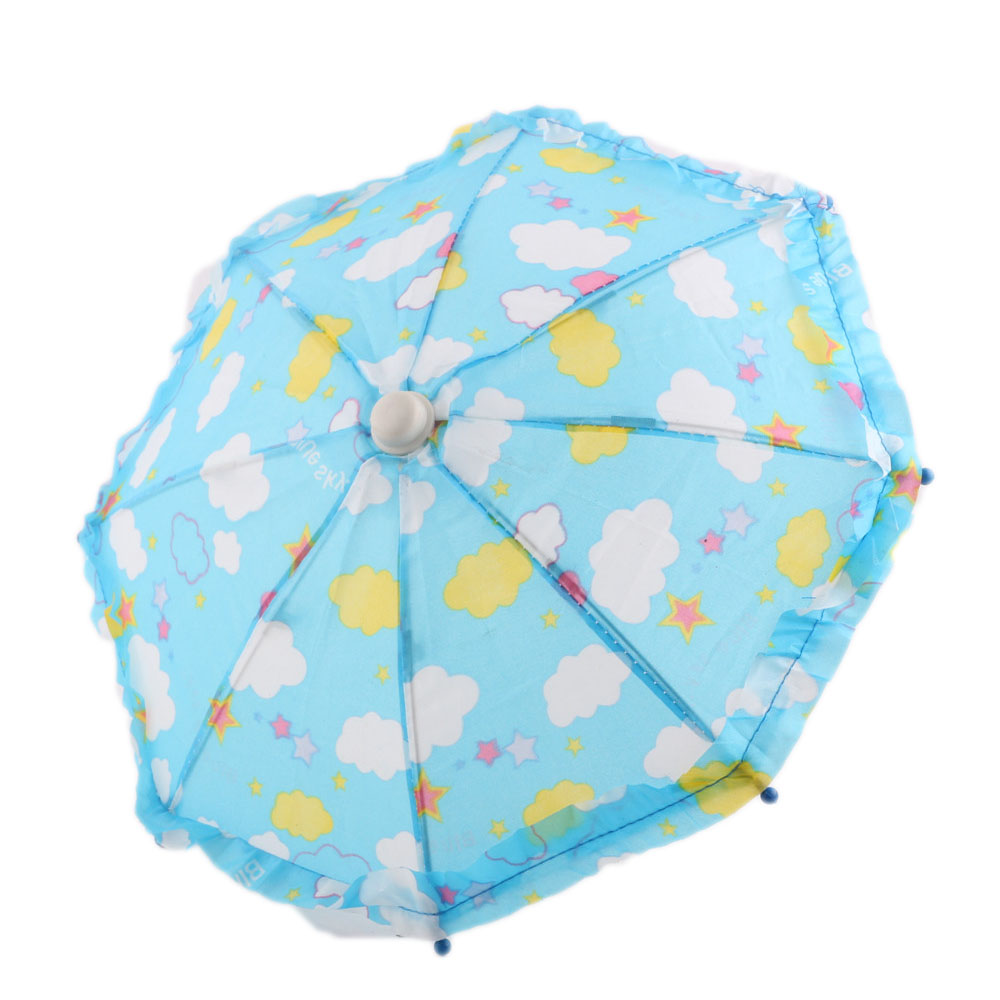 New 2016 hot blue umbrella for the American girl doll clothes accessories of 18 inches, give children the best gift зонт under the umbrella of the romantic 1118