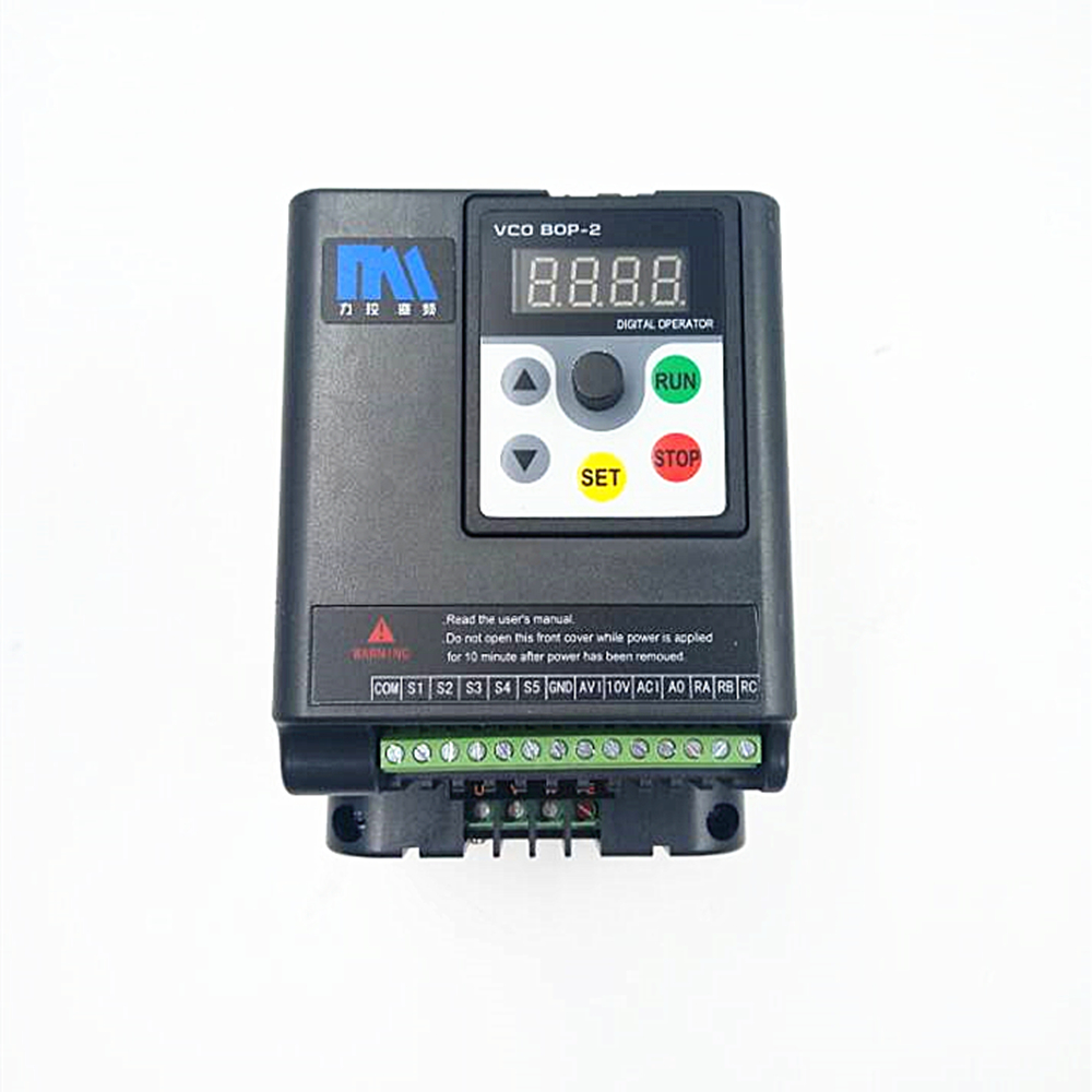 Lathe Universal VFD 1.5KW 2HP 1Ph 220V Speed Control 7A 500Hz Motor Variable-frequency Drive for 3 Phase Asynchronous Motor universal lathe motor drive vfd 1 5kw inverter 2hp 3ph output 380v variable frequency drive for 3 phase asynchronous motor