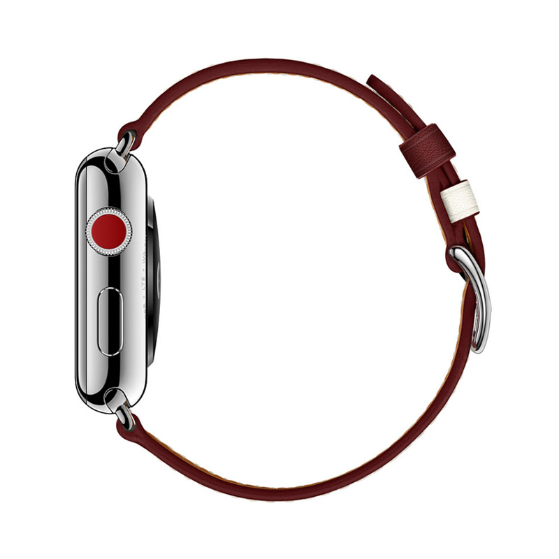 apple series 1 2 3 Leather Strap (2)