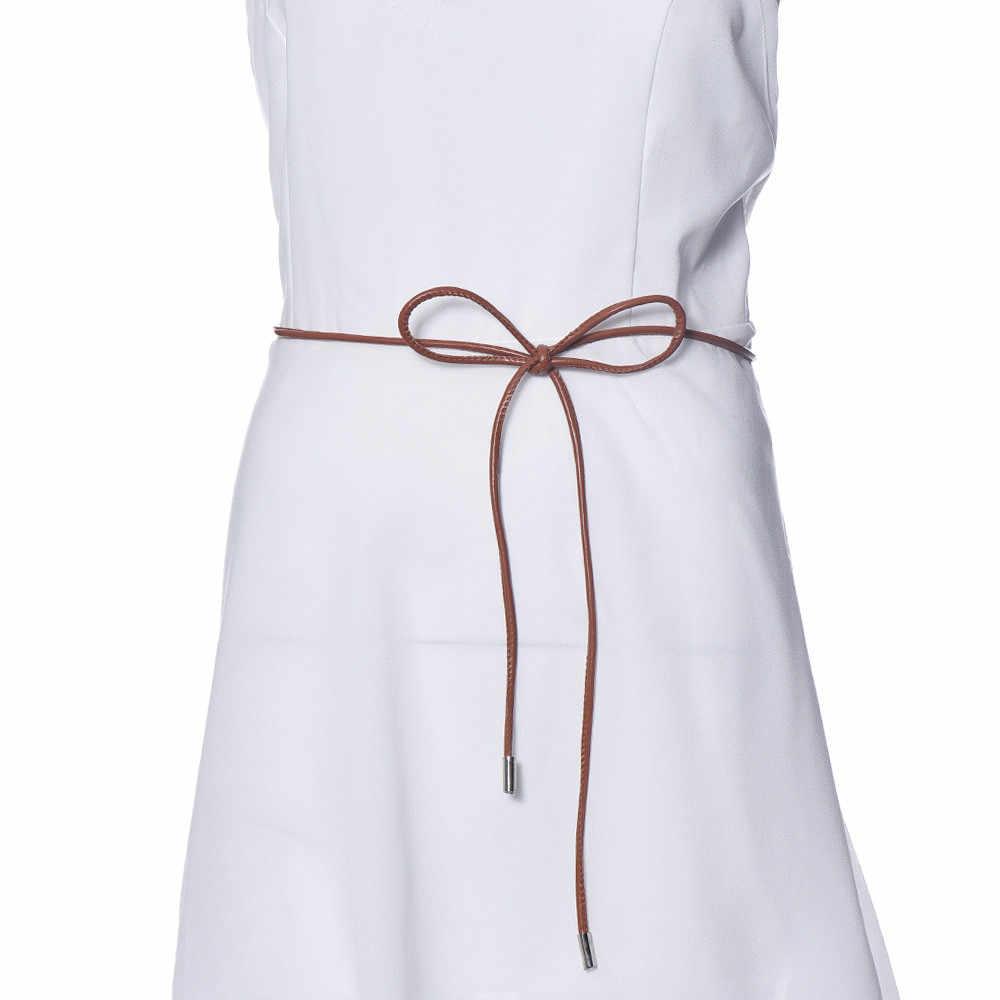Pasy damskie projektanci luksusowy pasek dla kobiet skórzany pas damska sukienka w pasie łańcuch talii cinturon mujer A9