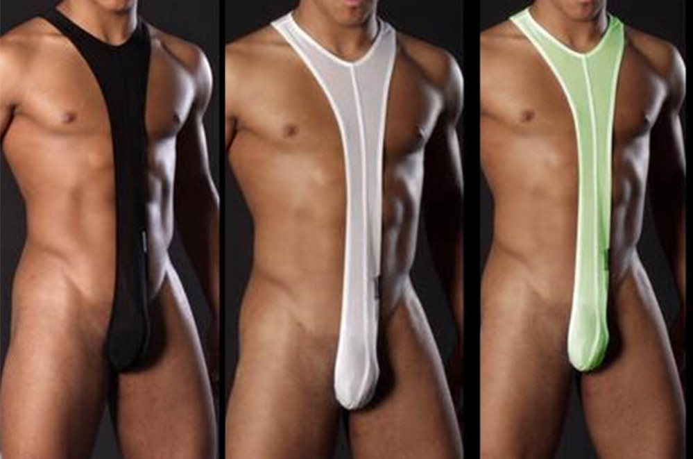 2019 Man Erotic Sexy Strap G-string Men's Sexy Borat Mankini Costume Male Underwear Sex Low-waist Strap Gay Thongs SM Mankini