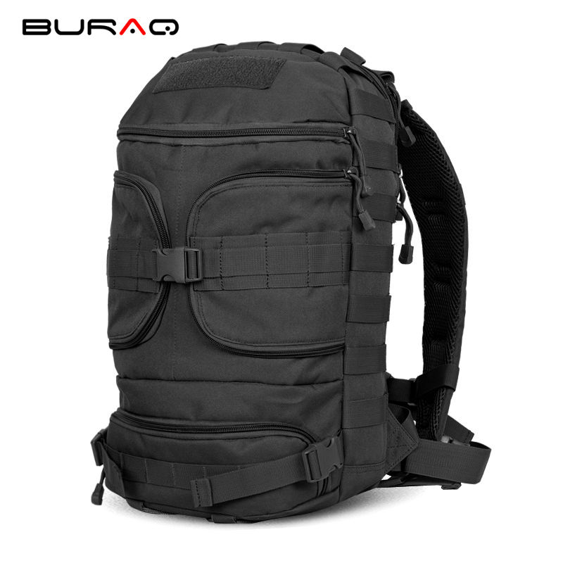 Tactical 45L Backpack MOLLE Assault Pack Men's Backpack Outdoor Hunting Camping Hiking Trekking backpack 25l military tactical assault pack backpack molle ripstop nylon backpack outdoor hiking camping hiking backpack