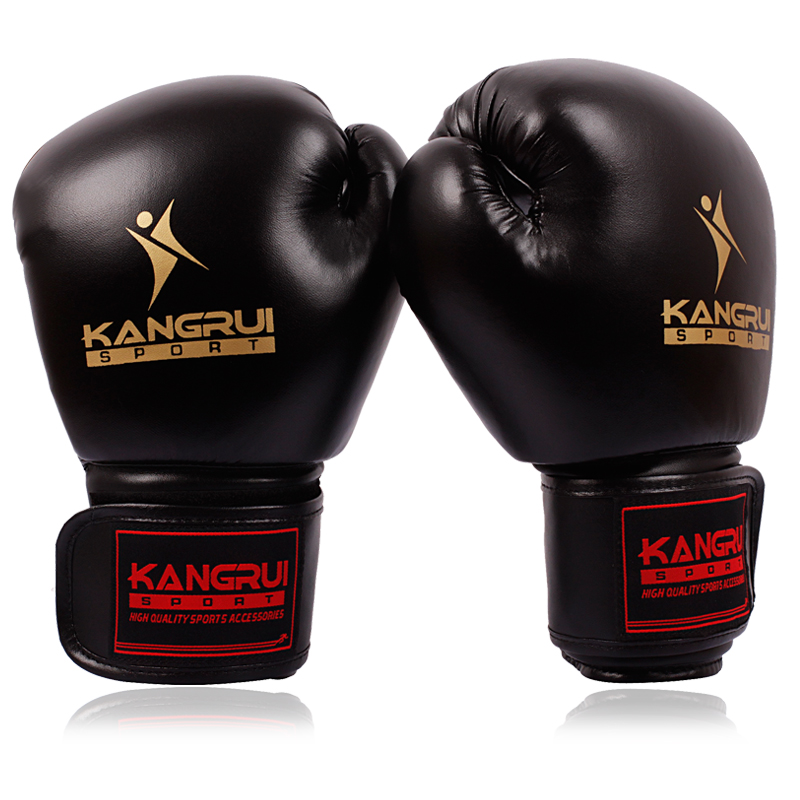 Kangrui Taekwondo Karate Protection font b gloves b font sanda Boxing Adult sport powerful Boxing font