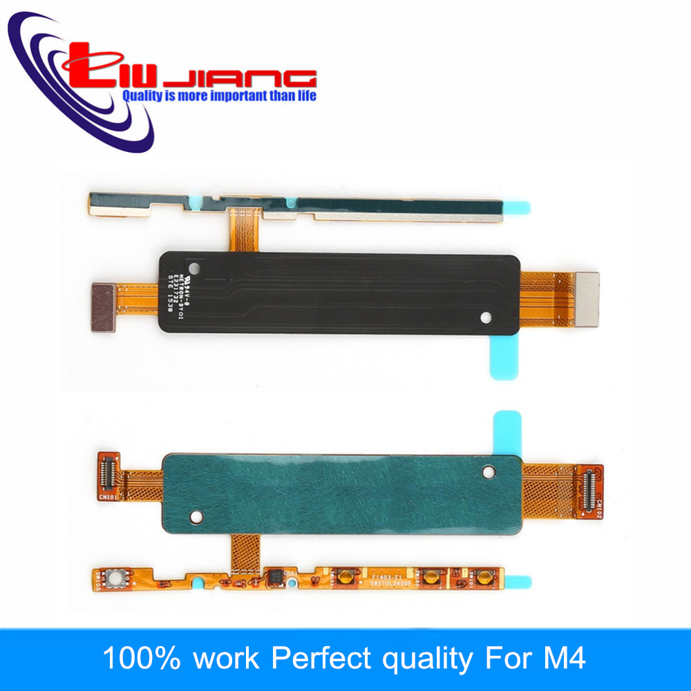 Liujiang Original New Power Switch On Off Volume Button Flex Cable For Sony M4 E2303 E2353