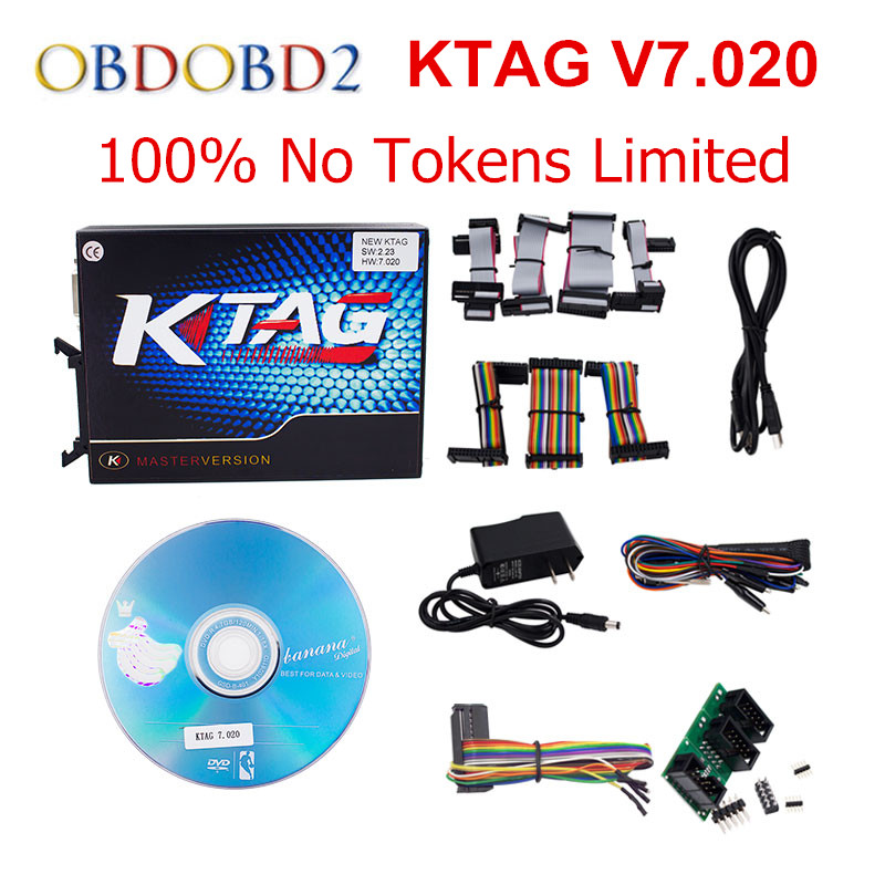 HW V7.020 V2.23 Ktag Master Version K-TAG Hardware V6.070 V2.13 K TAG 7.020 ECU Programming Tool Use Online No Token DHL Free 2017 newest ktag v2 13 firmware v6 070 ecu multi languages programming tool ktag master version no tokens limited free shipping